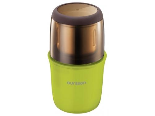 Кофемолка Oursson OG2075, зеленая, вид 1