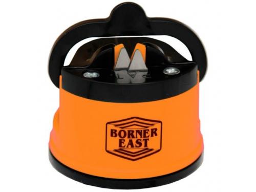 Ножеточка Borner с вакуумным креплением, оранжевая, вид 1