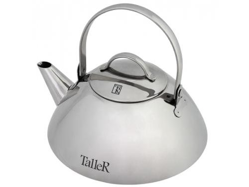 Чайник заварочный Taller Simon TR-1345, серебристый, вид 1