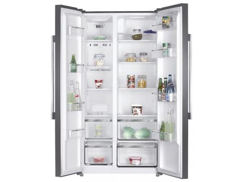 Холодильник Kraft KF-F2660NFL металл, вид 1
