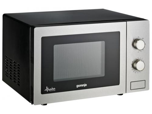 Микроволновая печь Gorenje MO21MGE, серебристая, вид 1
