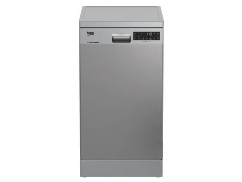 Посудомоечная машина Beko DFS28020X серебристая, вид 1