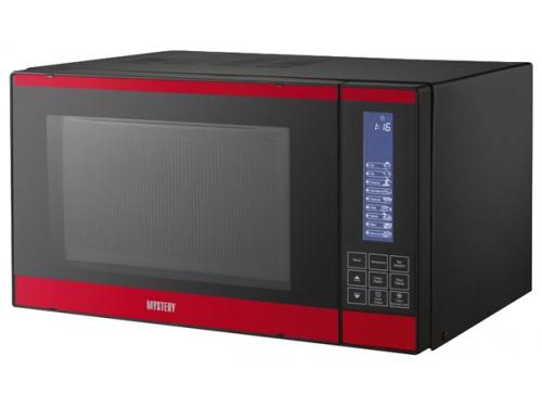 Микроволновая печь Mystery MMW-2021G, черно-красная, вид 1