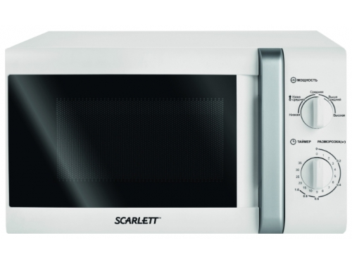 Микроволновая печь Scarlett SC-2007, белая, вид 1