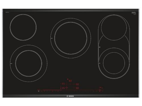 Варочная поверхность Bosch PKM875DP1D, черная, вид 1