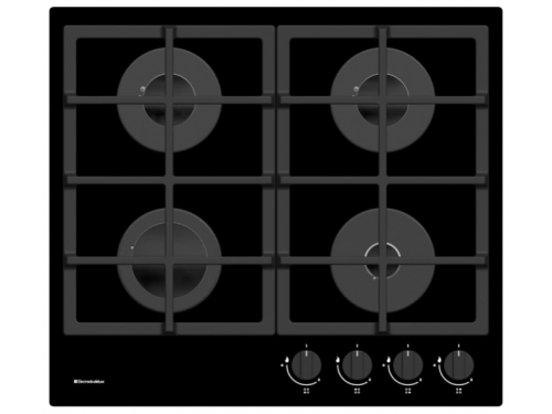 Варочная поверхность Electronicsdeluxe GG4 750229F -011, стекло черное, вид 1