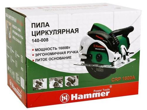 Циркулярная пила Hammer CRP 1600 А (190 мм), вид 5