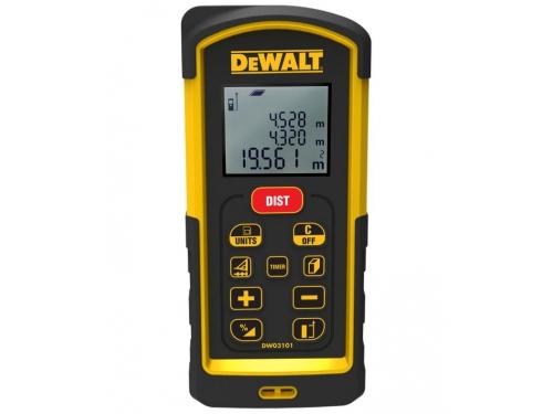 Дальномер DeWalt DW 03101, лазерный, 100 м, чехол, вид 1