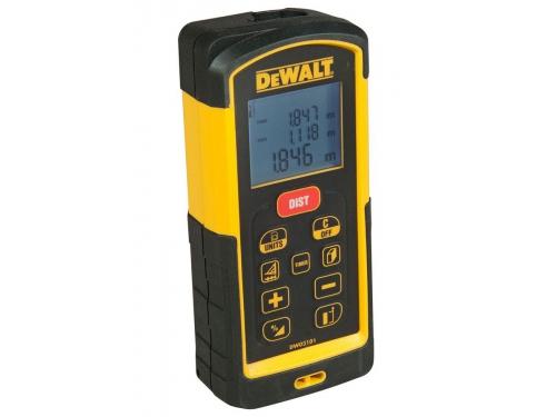 Дальномер DeWalt DW 03101, лазерный, 100 м, чехол, вид 3
