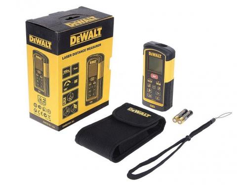 Дальномер DeWalt DW 03101, лазерный, 100 м, чехол, вид 5