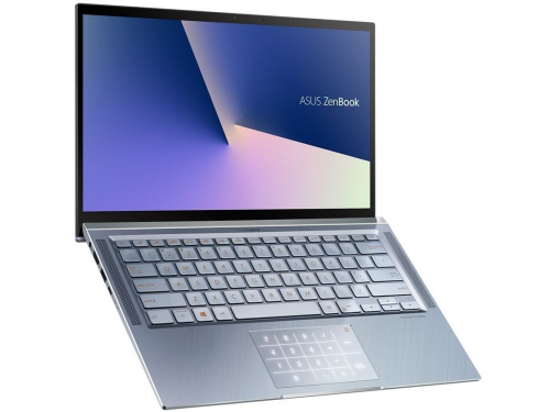 Ноутбук ASUS Zenbook 14 UX431FA-AM020T, 90NB0MB3-M01690, синий металлик, вид 1