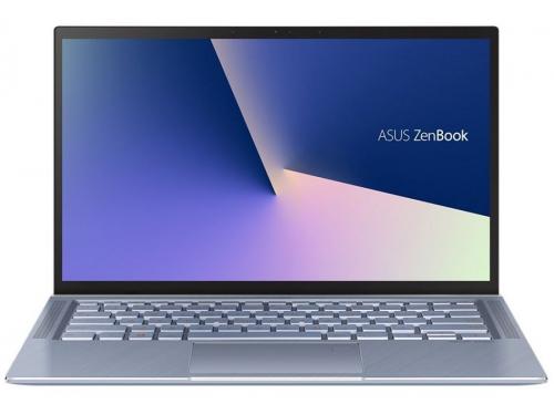 Ноутбук ASUS Zenbook 14 UX431FA-AM020T, 90NB0MB3-M01690, синий металлик, вид 2