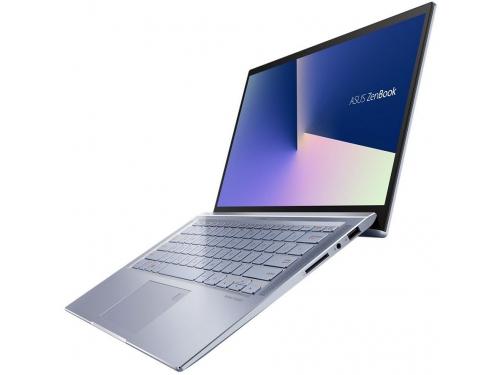 Ноутбук ASUS Zenbook 14 UX431FA-AM020T, 90NB0MB3-M01690, синий металлик, вид 3