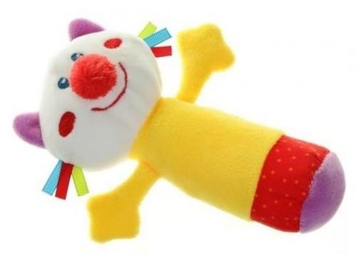 Игрушка Happy Baby погремушка Кот с пищалкой 330358, вид 3