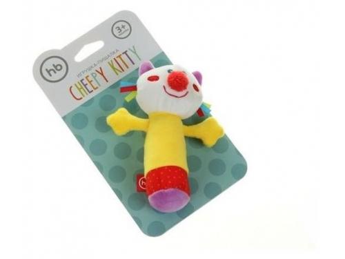 Игрушка Happy Baby погремушка Кот с пищалкой 330358, вид 5