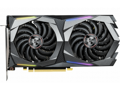 Видеокарта GeForce MSI GeForce GTX 1660 Gaming 6G (GDDR5, G-Sync, VR), вид 2
