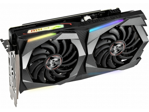 Видеокарта GeForce MSI GeForce GTX 1660 Gaming 6G (GDDR5, G-Sync, VR), вид 3