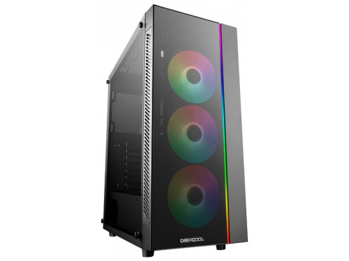 Корпус компьютерный Deepcool Matrexx 55 ADD-RGB 3F (без БП), черный, вид 1