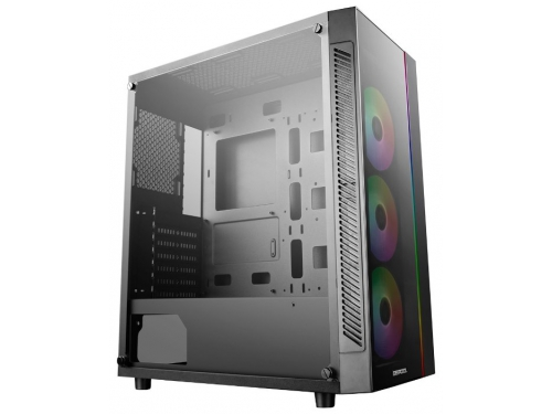 Корпус компьютерный Deepcool Matrexx 55 ADD-RGB 3F (без БП), черный, вид 2