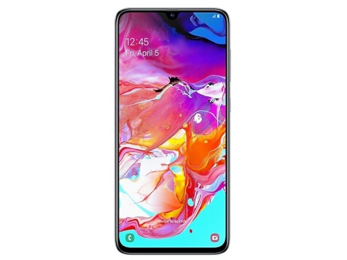 Смартфон Samsung Galaxy A70 (2019) SM-A705F 6/128Gb, белый, вид 1