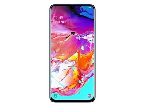 Смартфон Samsung Galaxy A70 (2019) SM-A705F 6/128Gb, синий, вид 1