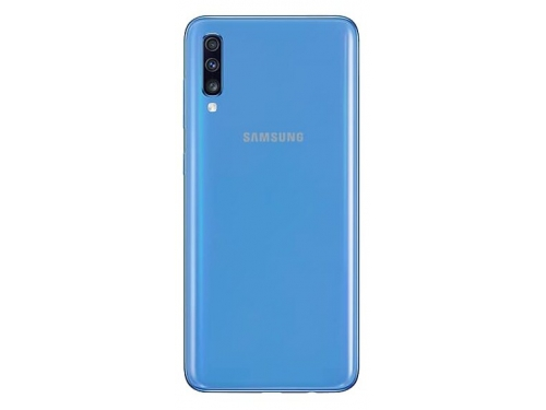 Смартфон Samsung Galaxy A70 (2019) SM-A705F 6/128Gb, синий, вид 2