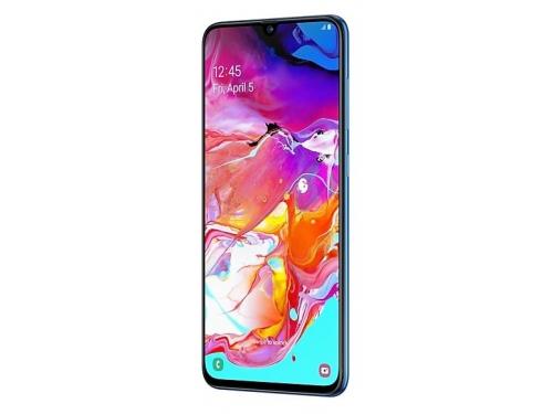 Смартфон Samsung Galaxy A70 (2019) SM-A705F 6/128Gb, синий, вид 3