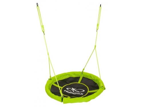 Качели Hudora Nest swing Alu 110, зеленые, вид 1