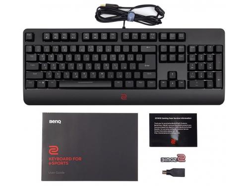 Клавиатура Zowie Celeritas II (USB или PS/2), черная, вид 5