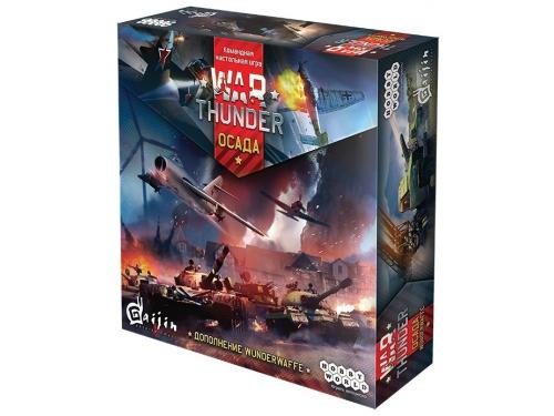 Настольная игра HOBBY WORLD War Thunder: Осада. Wunderwaffe, вид 1