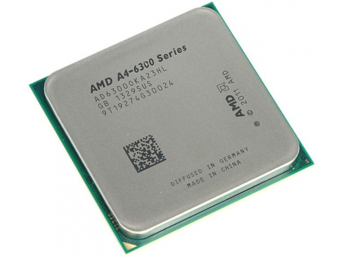 Процессор AMD A4-6300 Richland (FM2, L2 1024Kb, Tray), вид 1