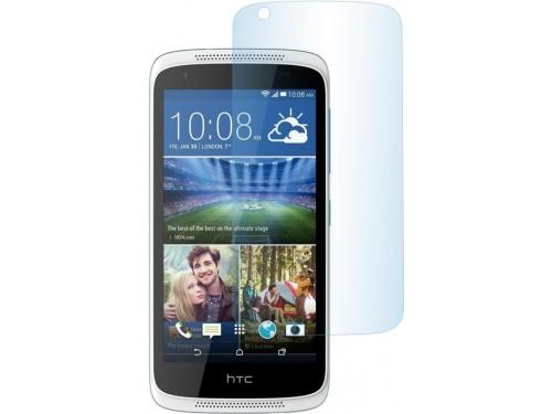 Защитное стекло для смартфона skinBOX для HTC Desire 526G+, глянцевое, вид 1