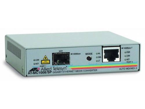 Медиаконвертер сетевой Медиаконвертер Allied Telesis AT-MC1008/SP-60, вид 1