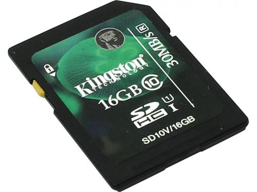 Карта памяти Kingston SD10VG2/16GB, без адаптера, вид 1
