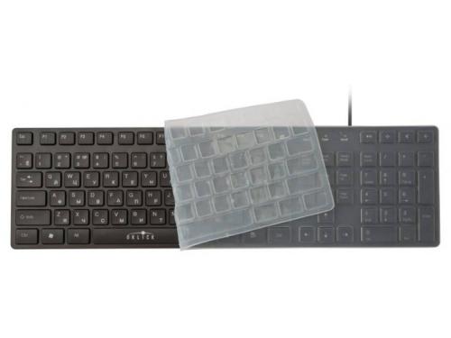 Клавиатура Oklick 556S USB, чёрная, вид 2