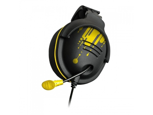 Гарнитура для пк Steelseries 9H NaVi Edition, черный/желтый, вид 1