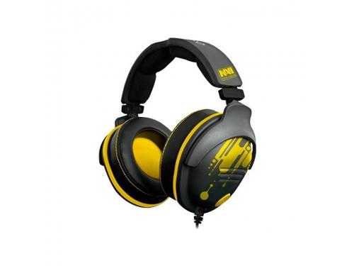 Гарнитура для пк Steelseries 9H NaVi Edition, черный/желтый, вид 2