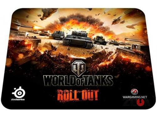 Мышка Sensei Raw World of Tanks Edition, черная +коврик, вид 3
