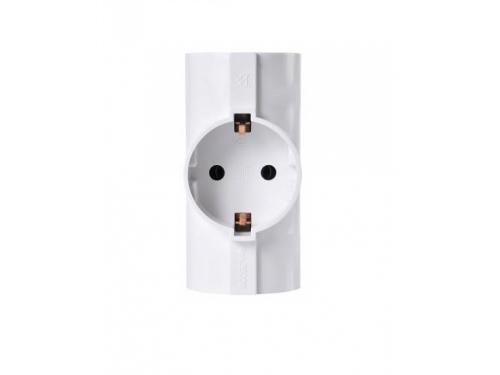 Разветвитель электропитания Buro BU-PS3TG-W, белый, вид 1