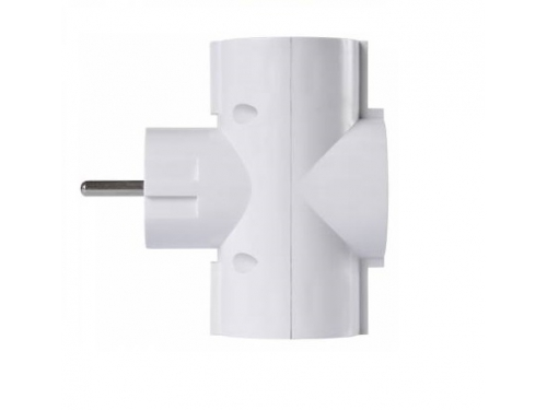 Разветвитель электропитания Buro BU-PS3TG-W, белый, вид 2