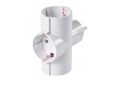 Разветвитель электропитания Buro BU-PS3TG-W, белый, вид 3