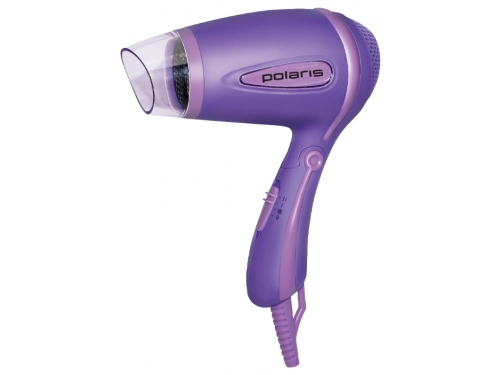Фен / прибор для укладки Polaris PHD1241TR, фиолетовый, вид 1