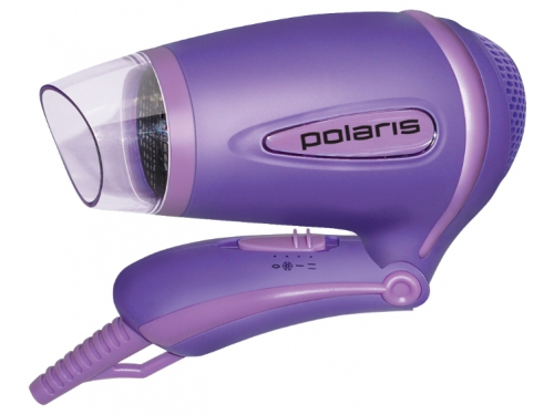 Фен / прибор для укладки Polaris PHD1241TR, фиолетовый, вид 2