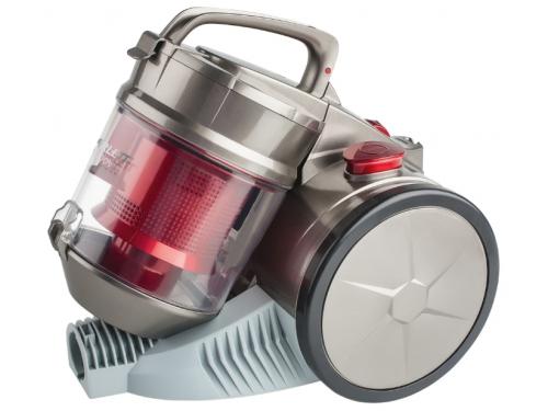 Пылесос Scarlett SC - VC80C04, серый/красный, вид 1