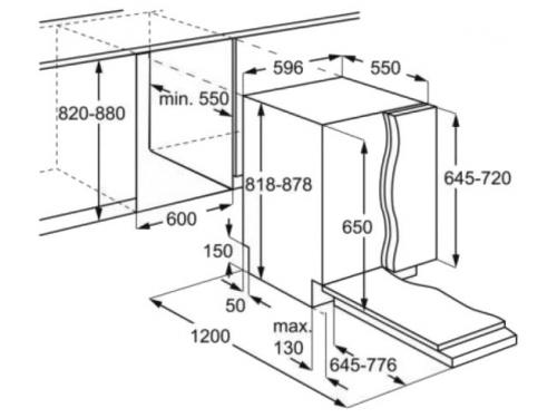 Посудомоечная машина Electrolux ESL 95324 LO (встраиваемая), вид 2