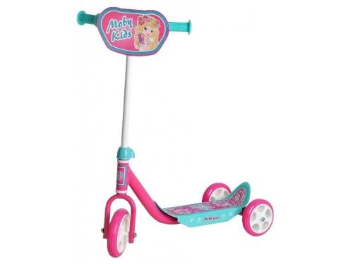 Трехколесный самокат Moby Kids Мечта, розовый, вид 1