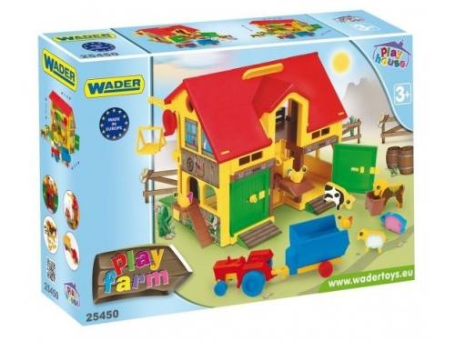 Игрушки для девочек Wader Домик ферма (25450), вид 2