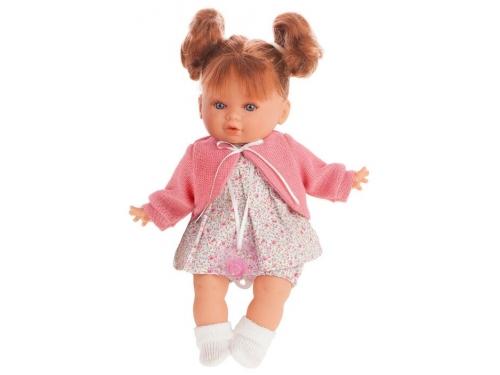Кукла Antonio Juan Монси в розовом, 30 см, 1333P с соской, вид 1