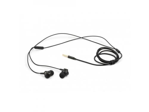 Гарнитура проводная для телефона Harper HV-708, черная, вид 1