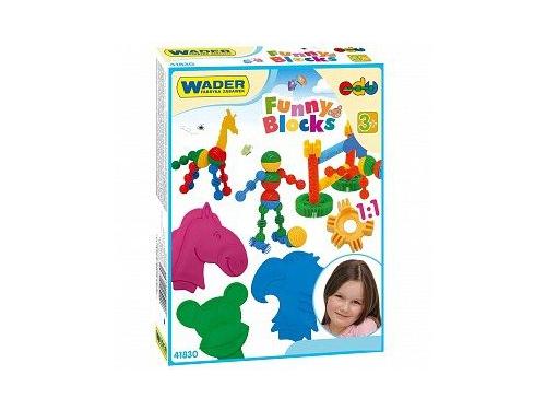 Конструктор Wader Funny blocks (41830), 36 элементов, вид 1
